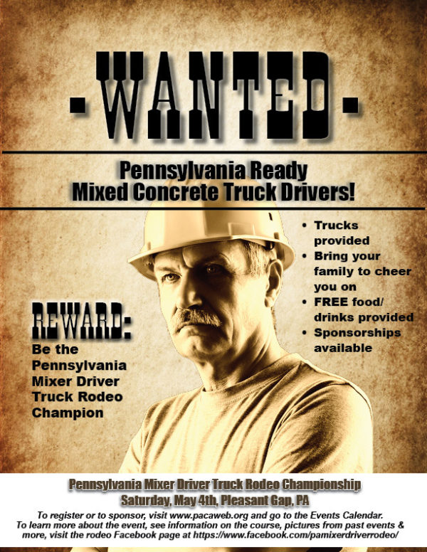 Rodeo Driver Wanted Poster19