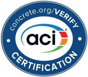 ACI Certification Seal 181018 120844